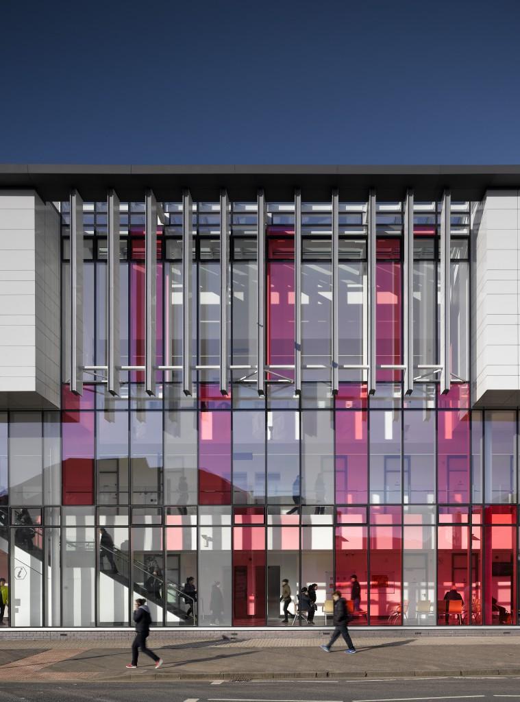 Building: New Possilpark Health Centre, Glasgow, Architect: Aedas