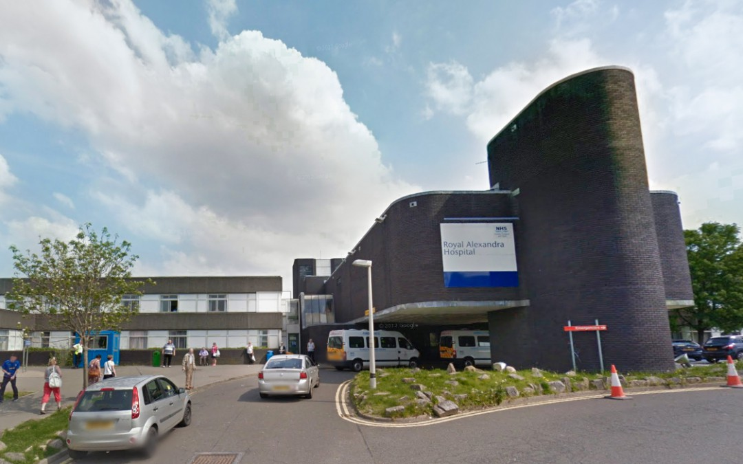 Inverclyde Royal Hospital And Royal Alexandra Hospital Infrastructure Review
