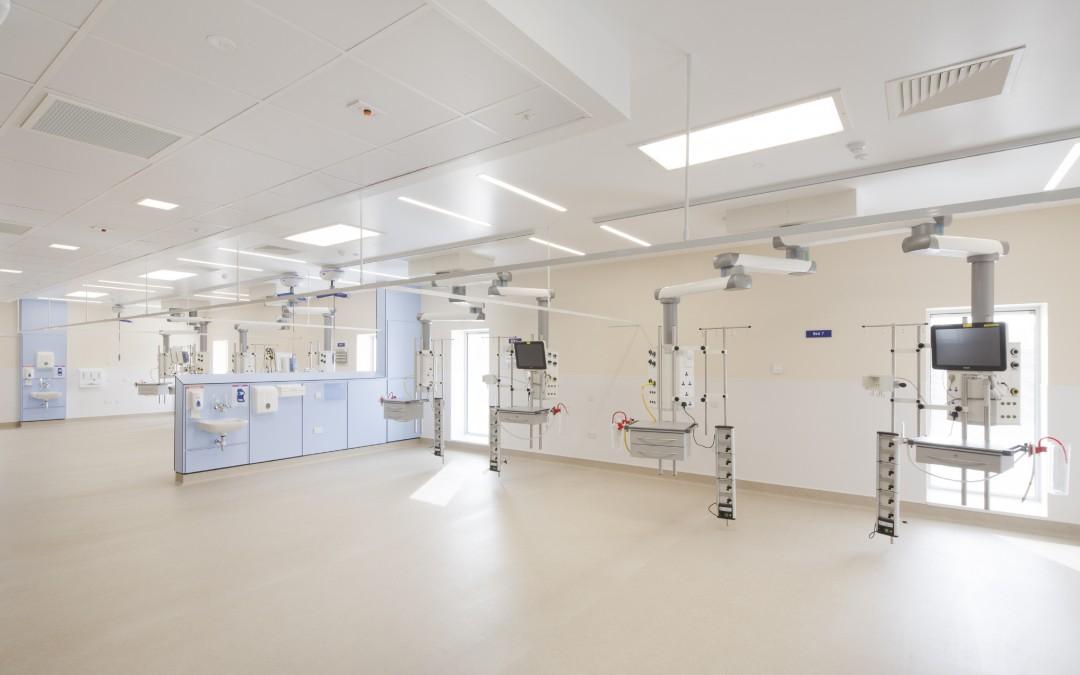 GRAHAM delivers New Critical Care Unit at Monklands Hospital