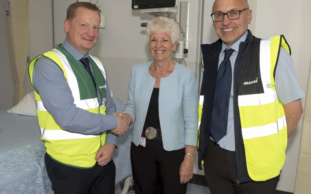 GRAHAM Construction hands over phase one of Raigmore Hospital upgrade to NHS Highland